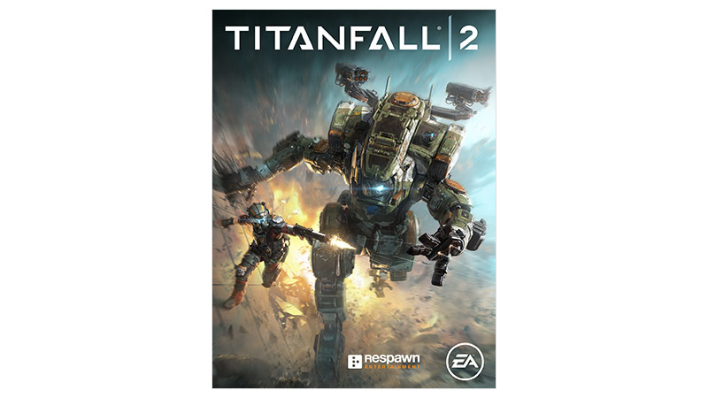Titanfall 2 standard edition coverbilde