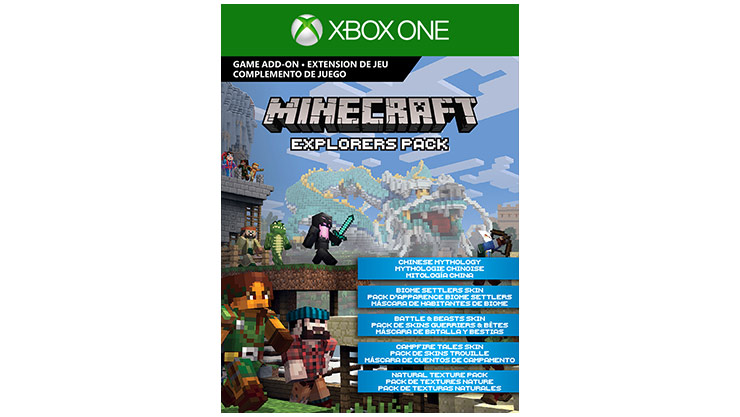 Pack Explorers Minecraft