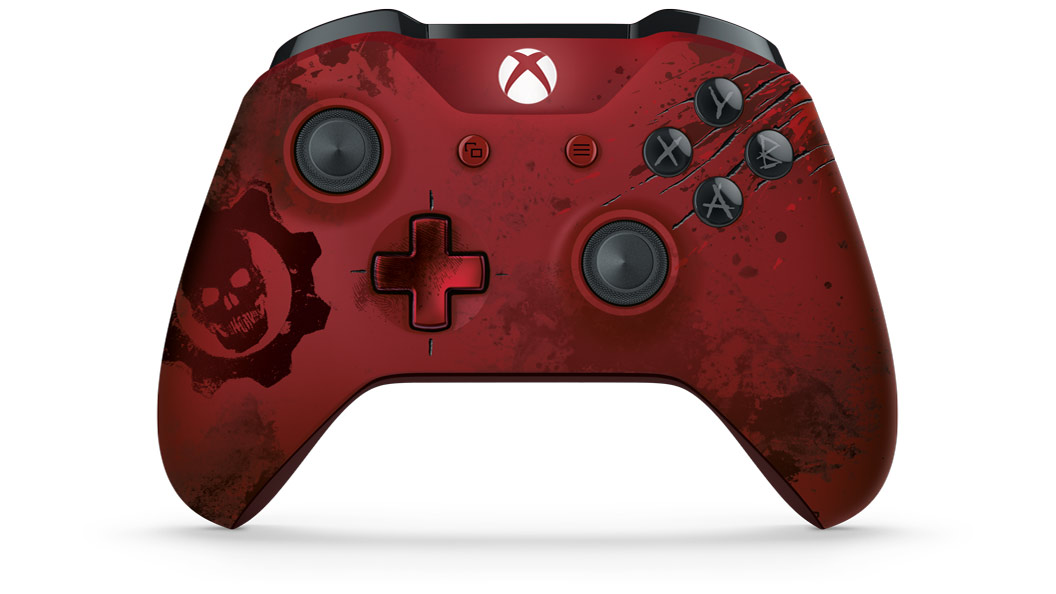 Stillshot of GOW4COLE Controller rotating 360 degrees