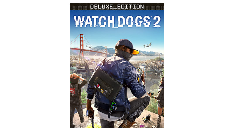 Watch Dogs 2 Deluxe Edition – Verpackung