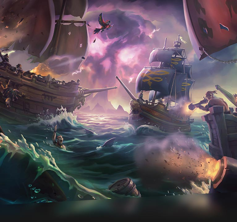 Demonstratievideo van Sea of Thieves in 4k