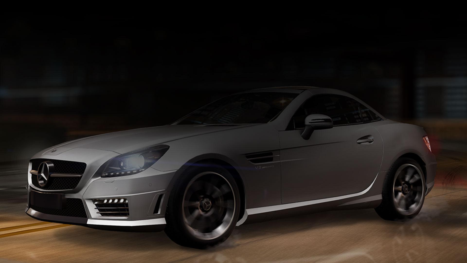 Mercedes Benz in Silber