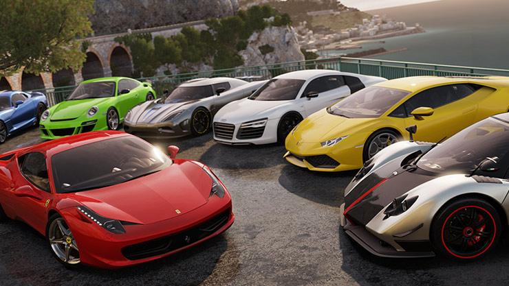 Járművezetős játékok Xbox Live Gold előfizetéssel