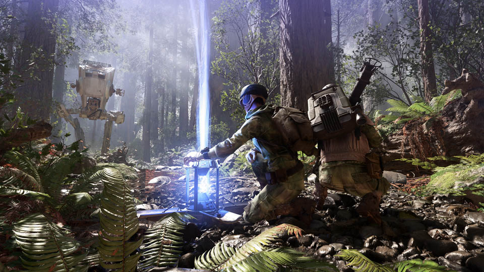 Shields up on Endor