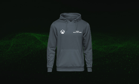 Limited edition Xbox Hall of Fame hoodie.