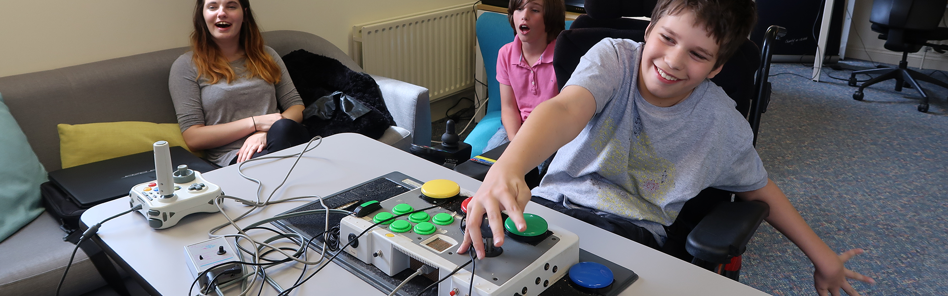 An image of some of the work SpecialEffect has done