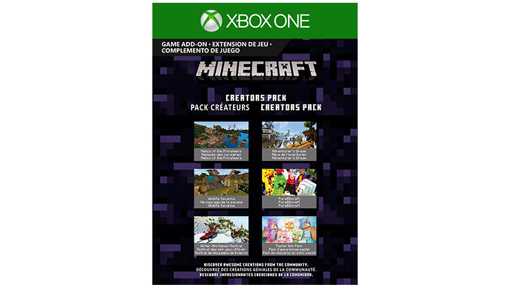Coverbillede til Minecraft Creators Pack