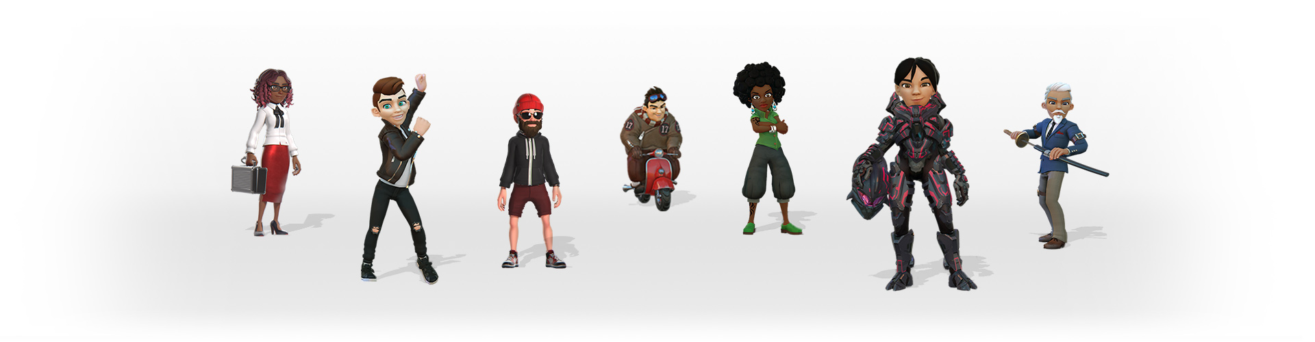 Avatars on Xbox Live