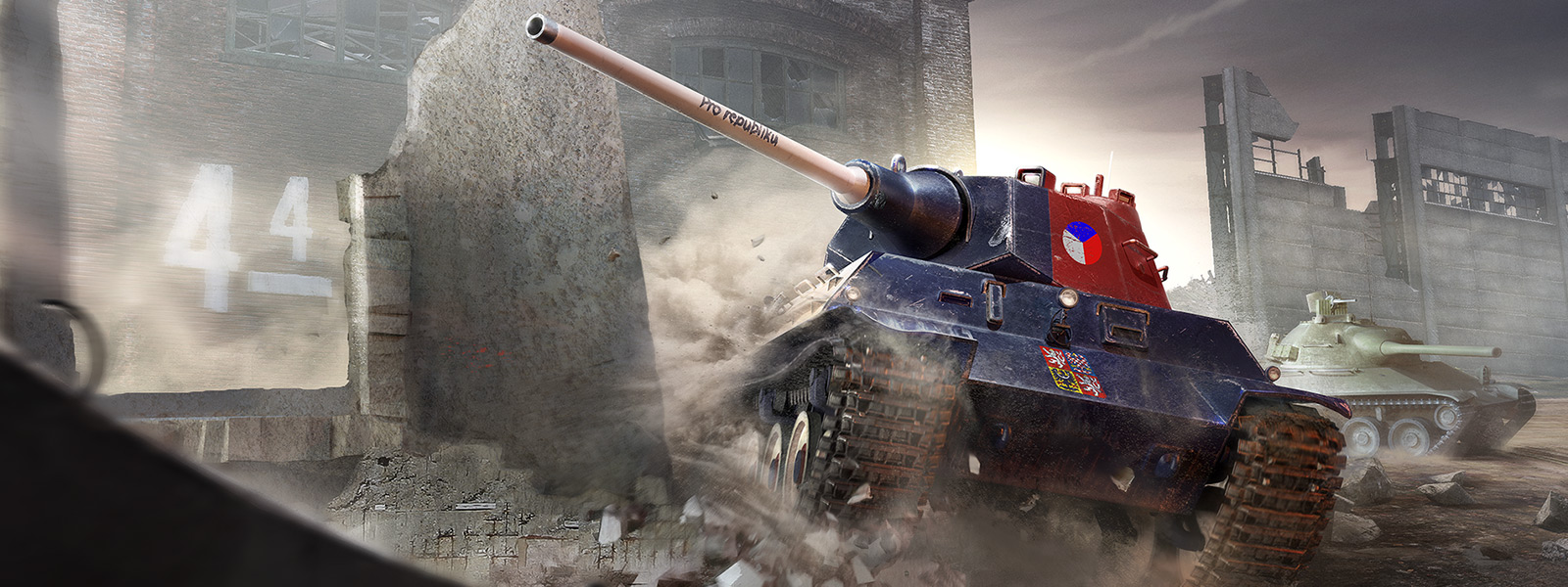 Map World Of Tanks Pc To Controller%0A     Czechoslovakian tanks drive through bombed out city