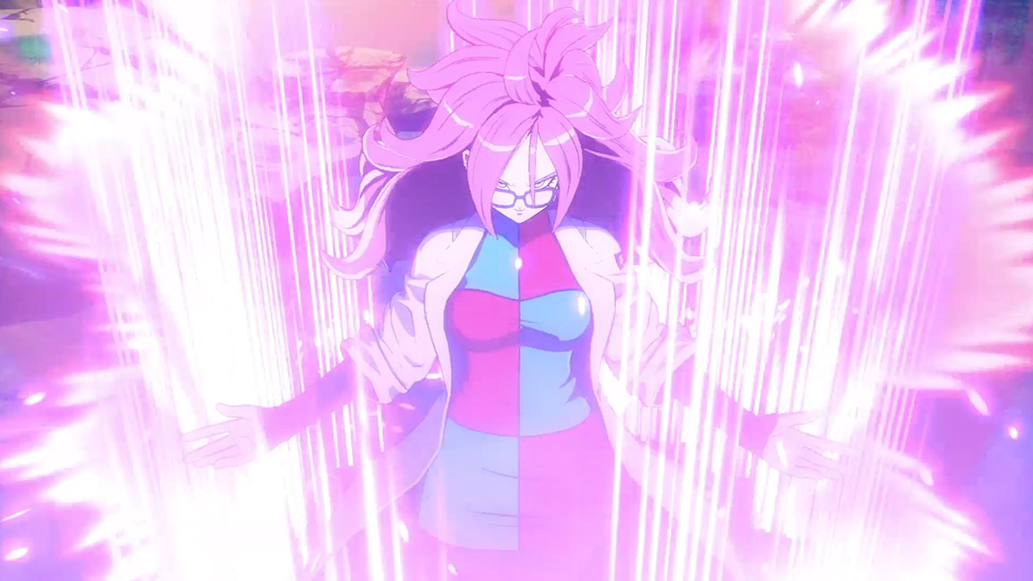 Front view of Goku Black