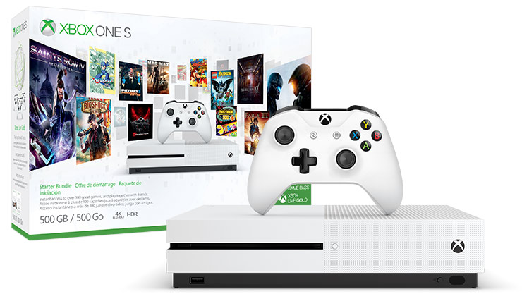 Xbox One S Starter Bundle (500GB)