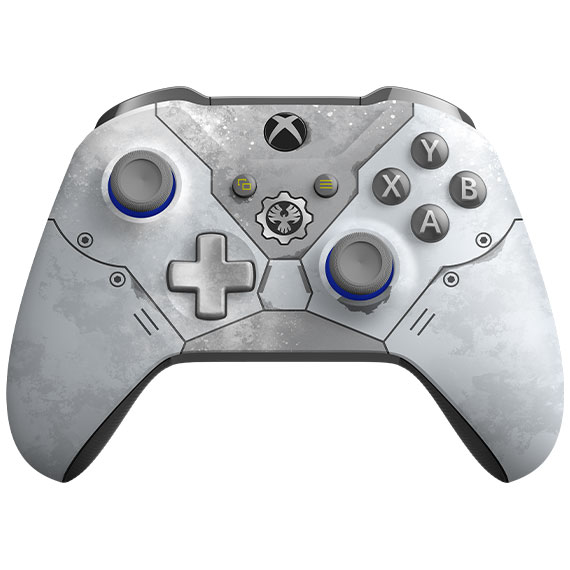 A detailed view of Xbox Wireless Controller – Gears 5 Kait Diaz Limited Edition