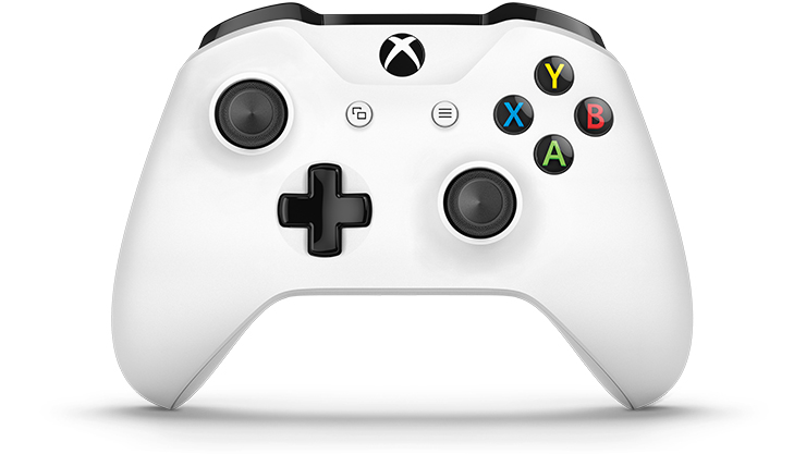 White Xbox Wireless Controller