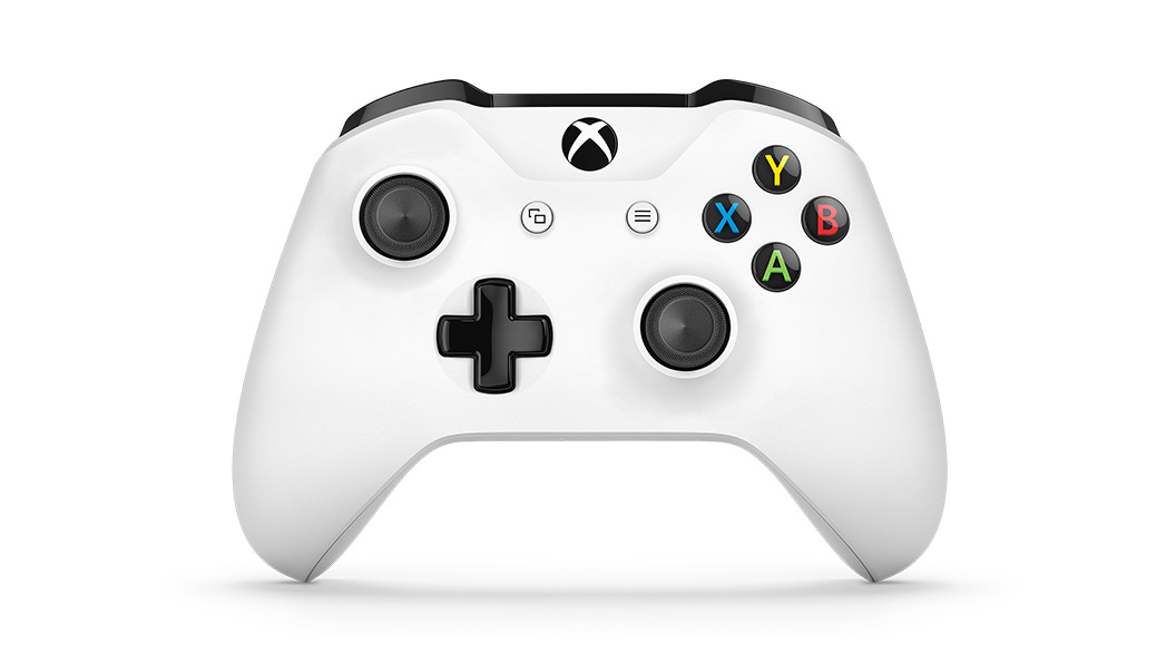 Xbox One S-controller set forfra
