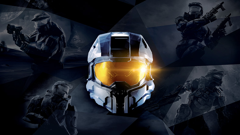 Front view of Master Chief helmet
