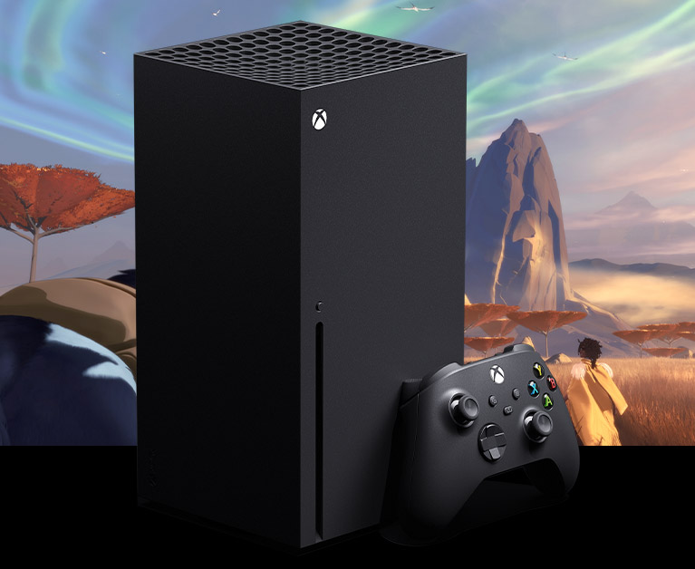 Konsola Xbox SeriesX z kontrolerem