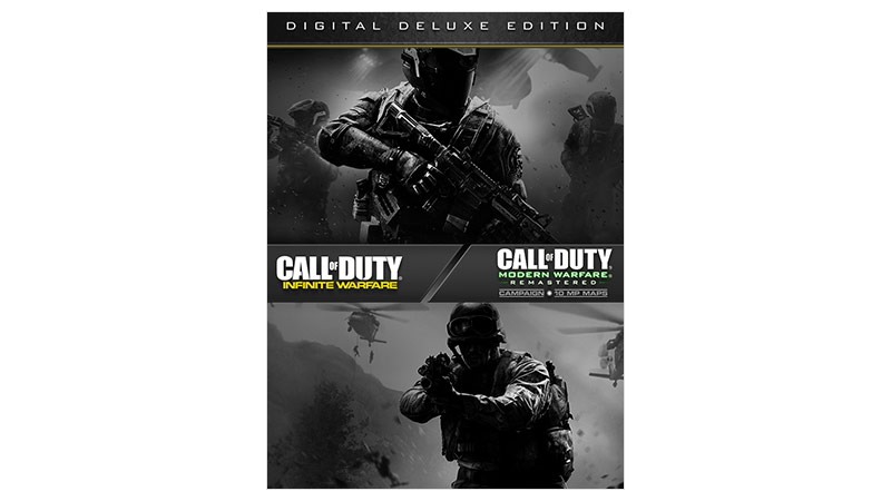 Caixa do Call of Duty Infinite Warfare Deluxe edition