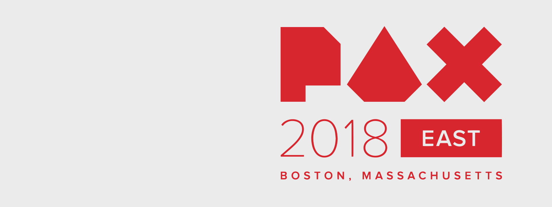 PAX 2018 East Hero Logo