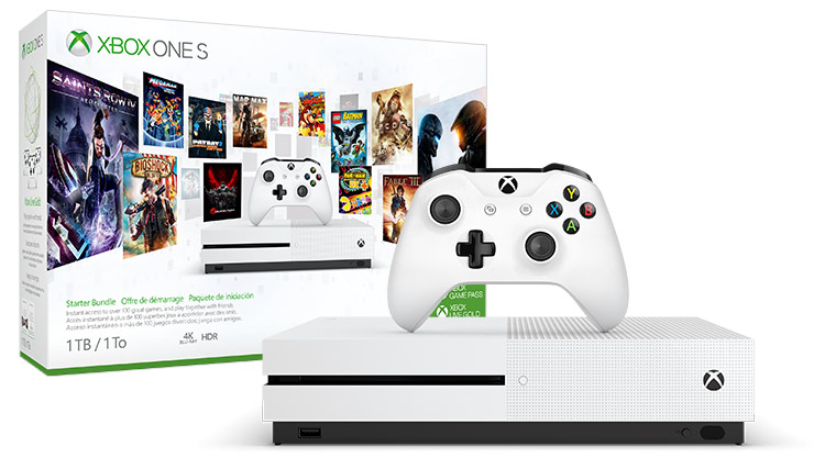 Xbox One S Starter Bundle 1 terabyte