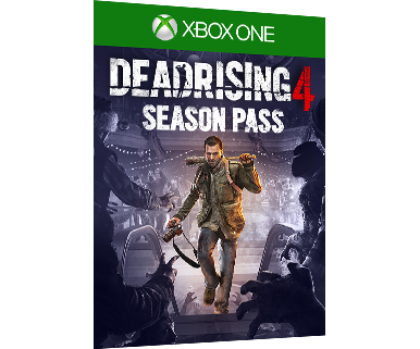 Dead Rising 4 Season Pass 包裝盒設計