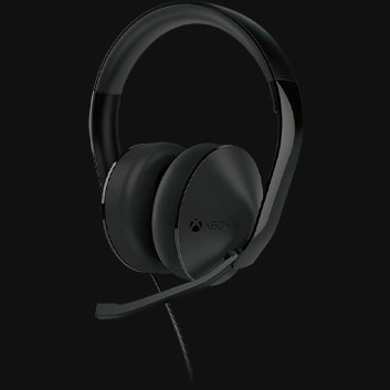 Detail view of Stereo Headset