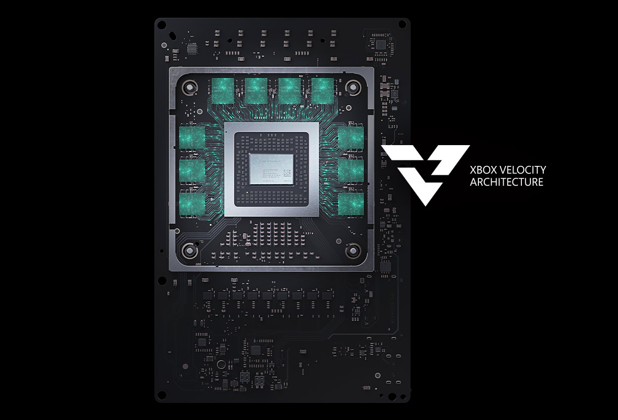 Xbox Velocity Architecture, the Xbox Series X CPU chip