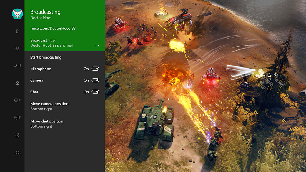How to Broadcast – Halo Wars 2