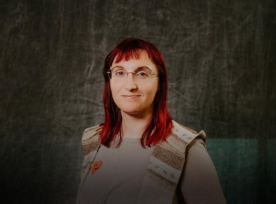 Portrait of Kate Ansolis
