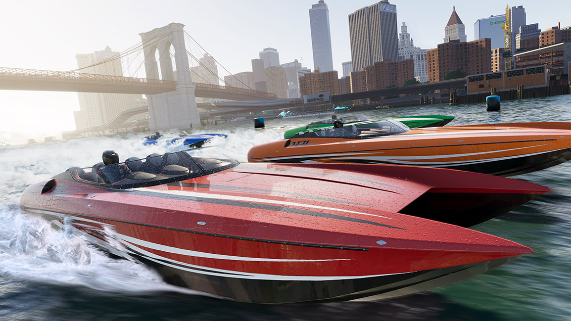Courses de power-boats