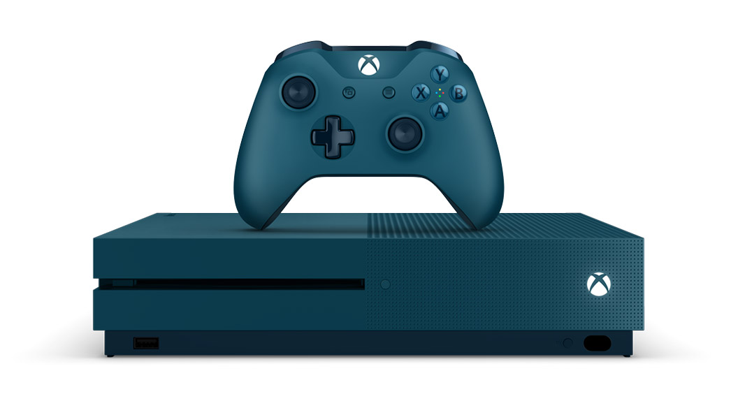 xbox one blue - photo #1