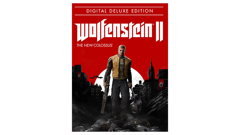 Wolfenstein II New Colossus Digital Deluxe Edition Kutu Resmi