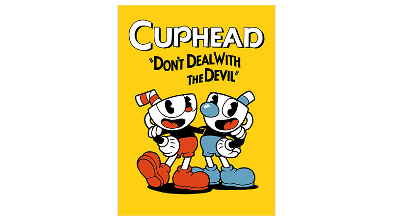 Cuphead Standard Edition-coverbilde