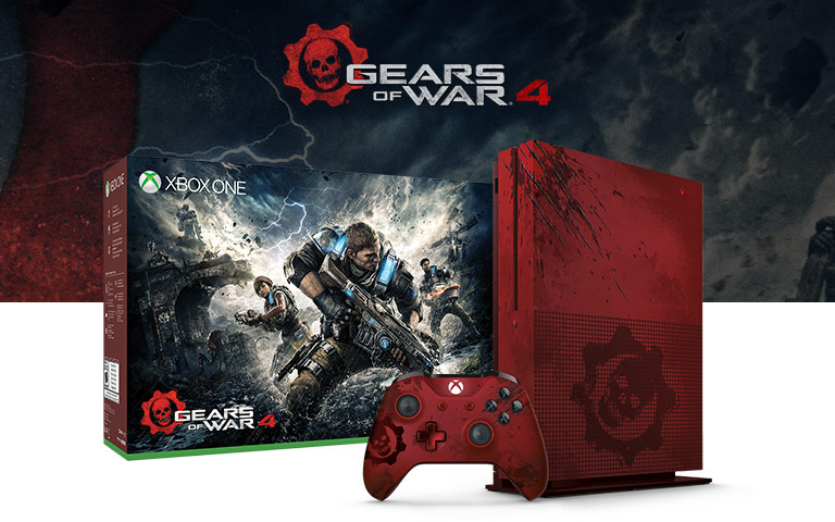 Gears of war 4 special edition xbox one s console unboxing youtube.