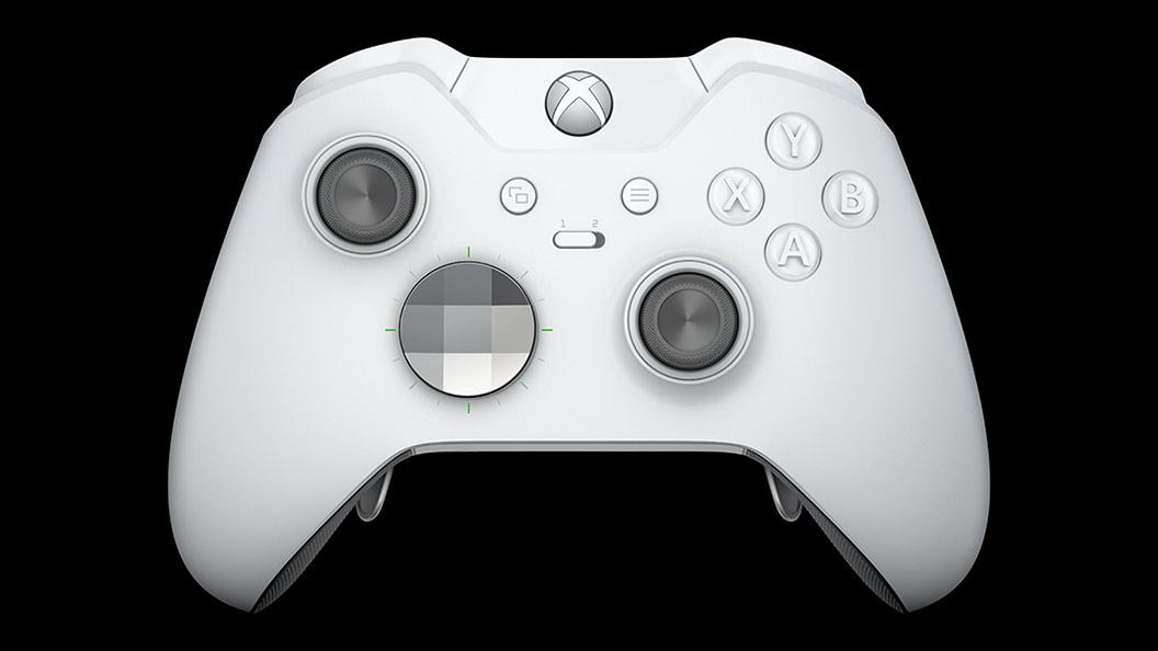 Xbox Elite Wireless Controller – White Special Edition | Xbox One