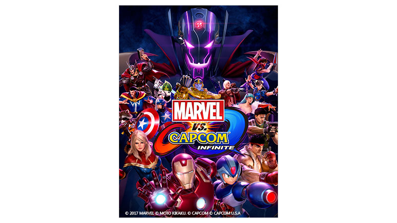 Marvel vs Capcom Infinite 標準版包裝圖
