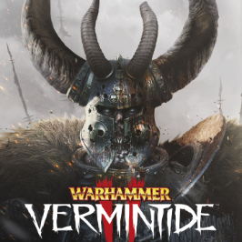 Warhammer Vermintide 2, front view of Warrior of Chaos of the Dark Pact