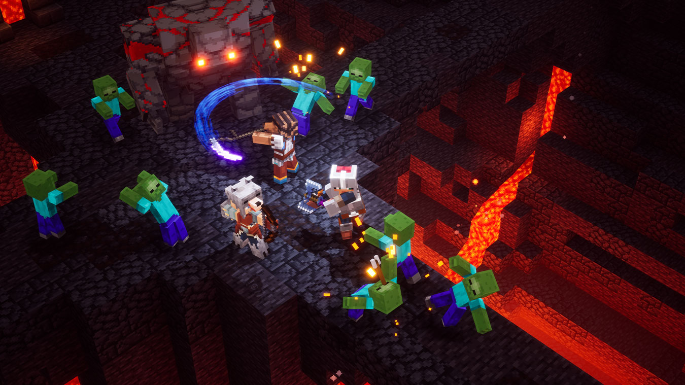 Minecraft Dungeons para Xbox One e Windows 10  Xbox