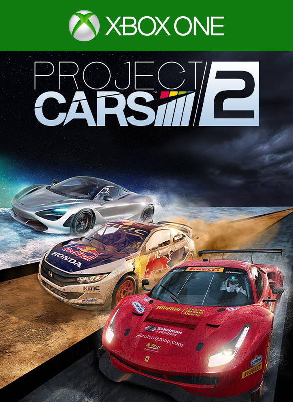 Project CARS 2 boxshot