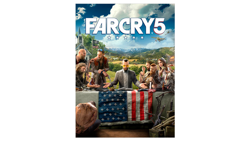 Imagem da caixa do Far Cry 5 Standard Edition