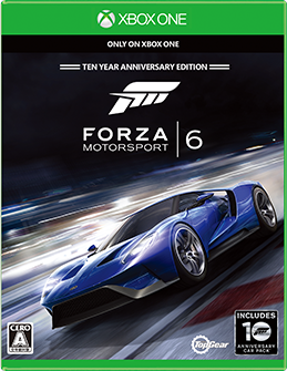 Forza Motorsport 6 box shot