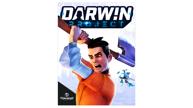 Darwin Project Game Preview Edition, bild på förpackningen