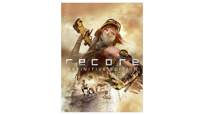Fotografie krabice ReCore Definitive Edition