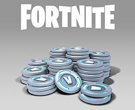 Fortnite, A very large pile of coins with V on them