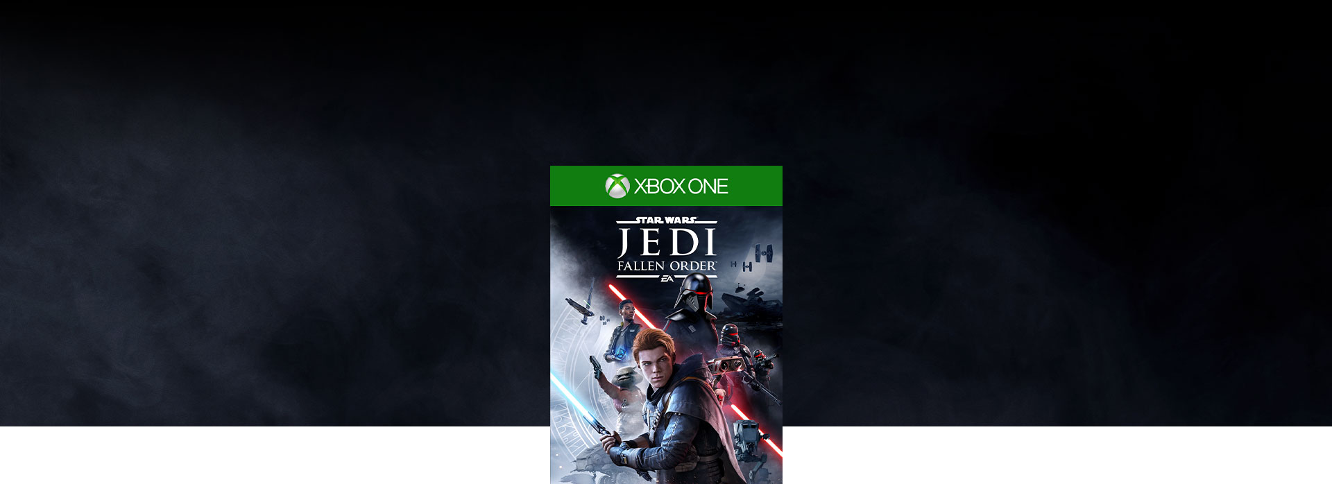 Star Wars Jedi: Fallen Order™ boxshot with smoke in the background