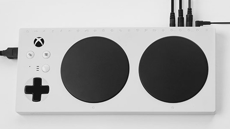 The Xbox Adaptive Controller.