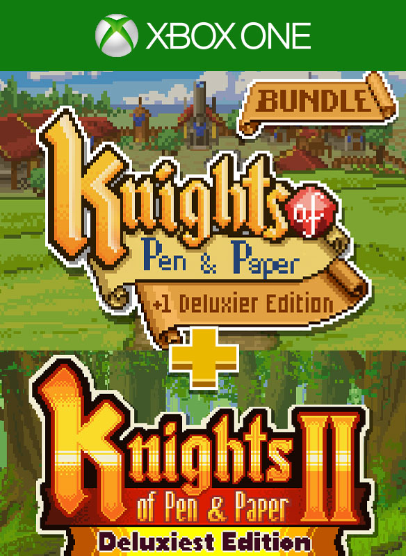 Knights of Pen and Paper Bundle boxshot