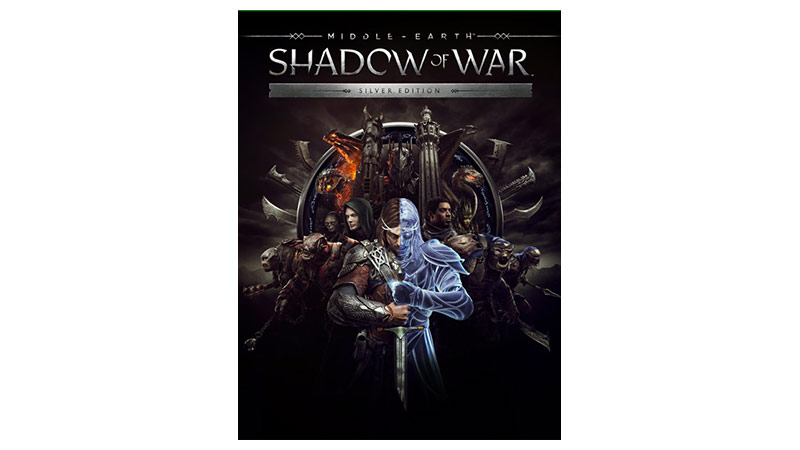 Middle earth Shadow of War Edición Silver