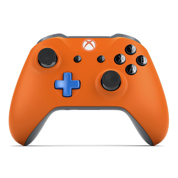View of Xbox Design Lab controller