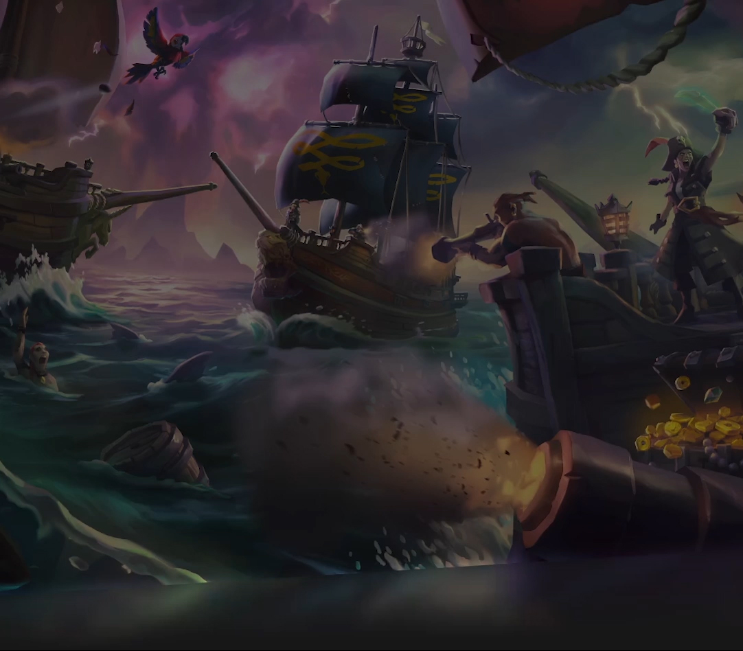 Vídeo de demostración 4K de Sea of Thieves.