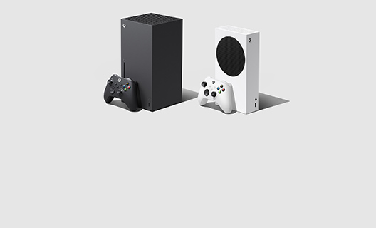 An Xbox Series X and Xbox Series S